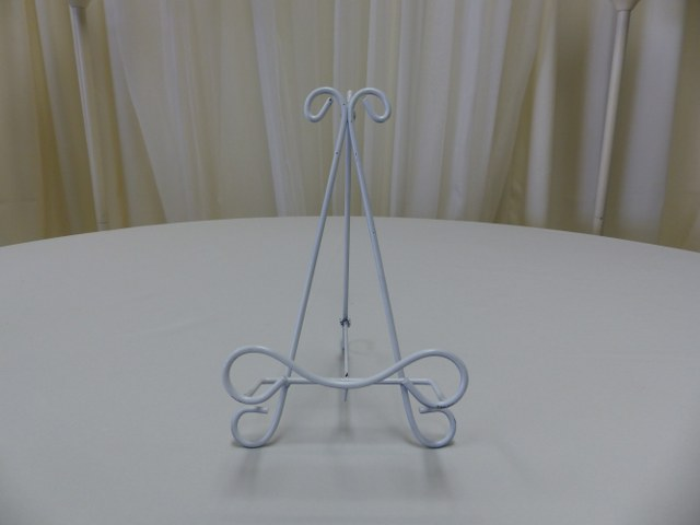 10.5inch White Iron Table Top Easel