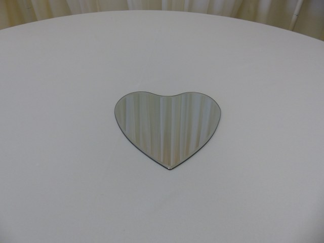 10inch Heart Mirror