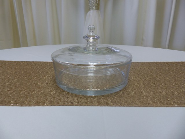 10inch straight sided bowl with lid