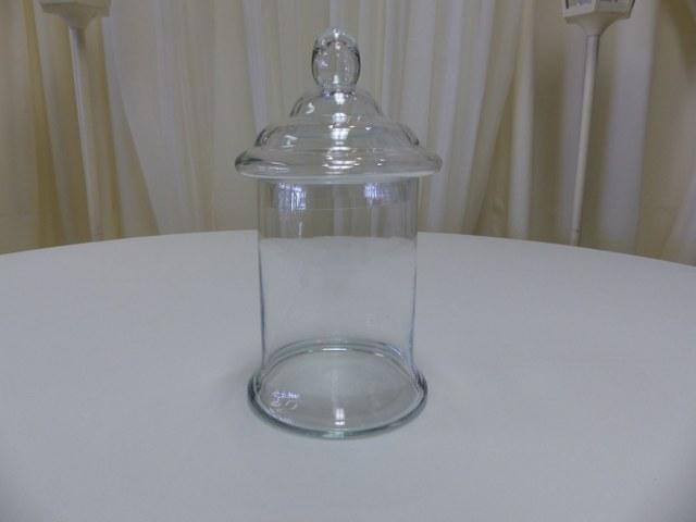 12inch Lidded Apothocary Candy Jar