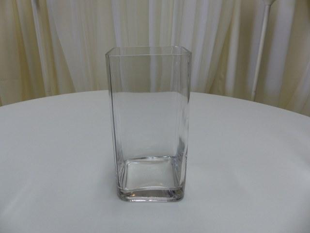 12inch x 6inch Square Vase