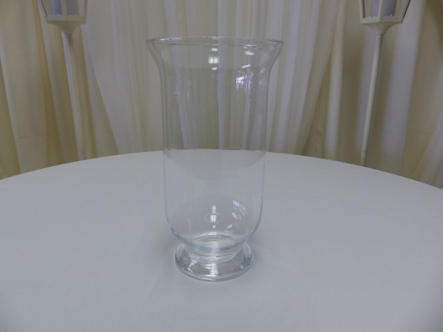 15inch Footed Hurricane Vase