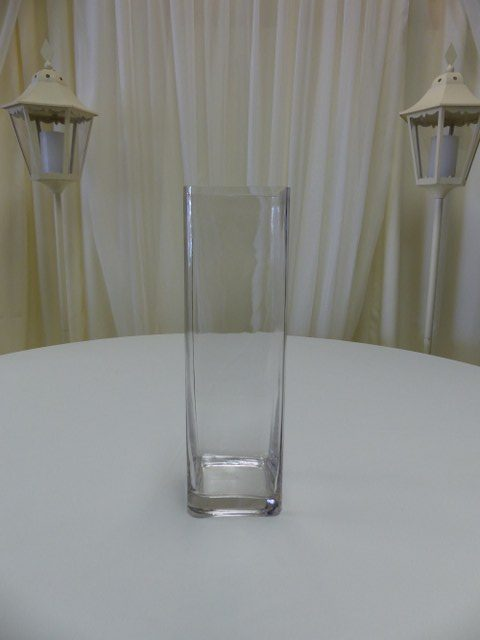 16inch Straight Sided Square Vase
