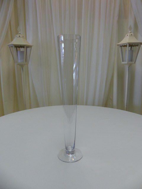 23inch Trumpet Vase