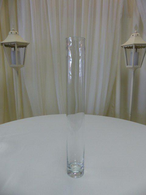 24inch x 3inch Cylinder Vase