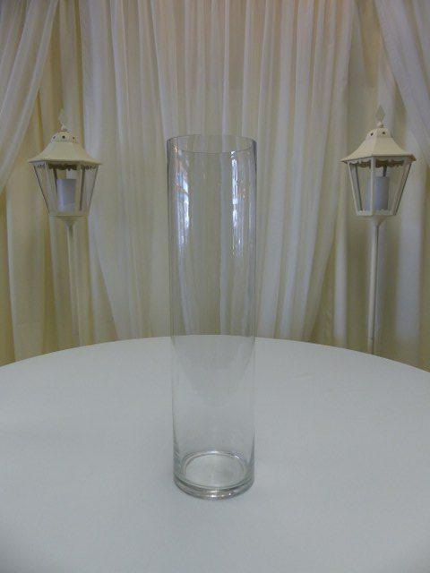 24inch x 6inch Cylinder Vase