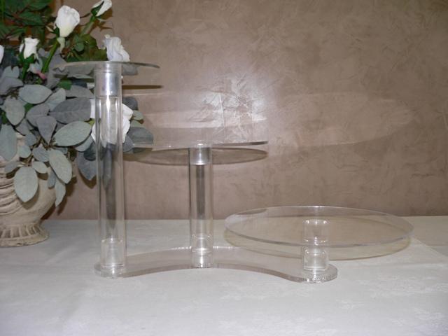 3 Tier Cascade Acrylic Cake Stand