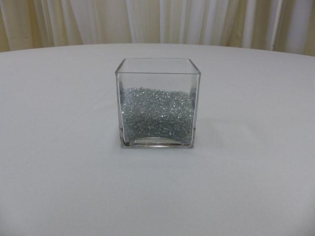 4inch x 4inch Square Cube Vase