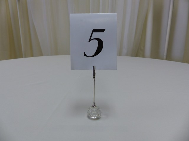 5inch Crystal Ball Base Table Marker