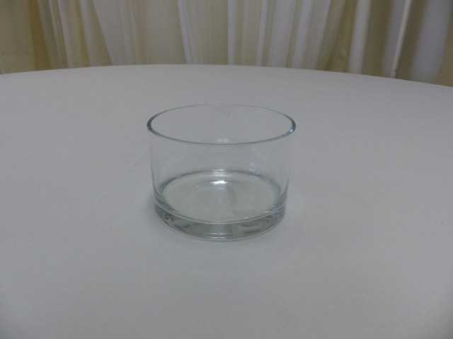 5inch x 3inch Straight Sided Round Vase