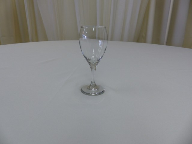 6.5oz Teardrop Wine Glass