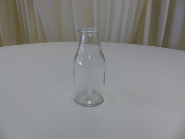 6inch Clear Milk Bottle