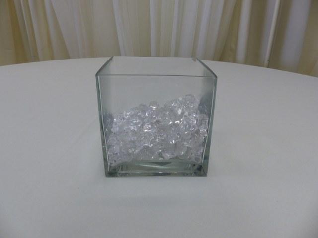 6inch x 6inch Square Cube Vase