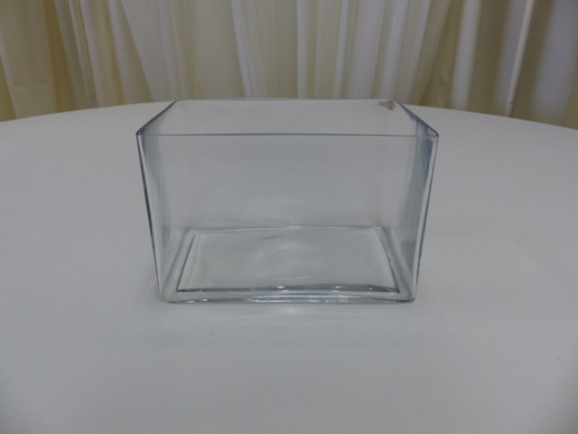6inch x 9inch Rectangle Vase