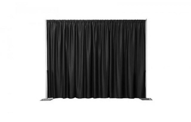 8Ft High Black Pipe and Drape_640x410
