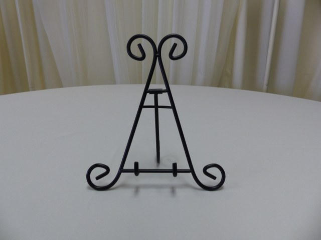 9.5inch Black Iron Table Top Easel