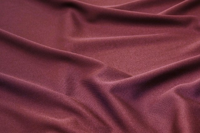 Berry Polyester Linen