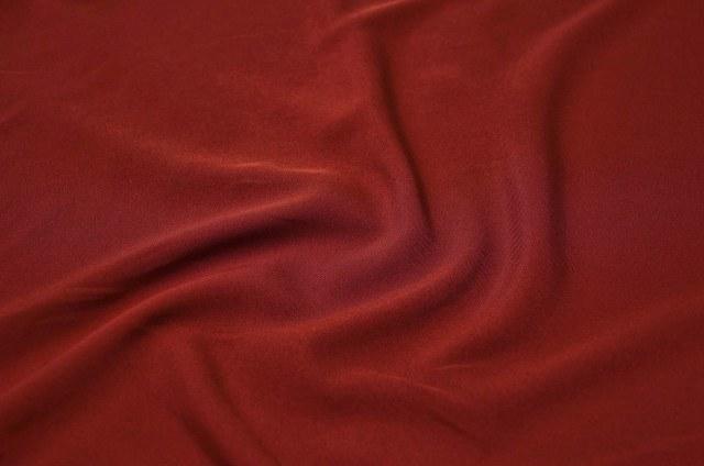 Burgundy Polyester Linen