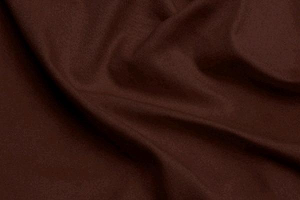 Chocolate Brown Polyester 2
