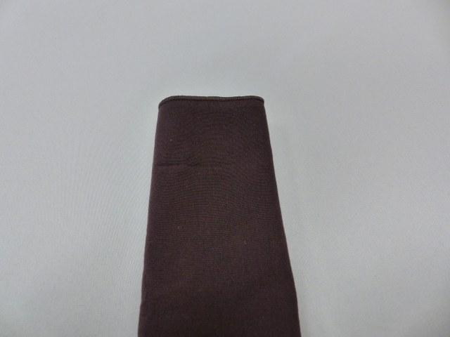 Chocolate Brown Polyester Napkin