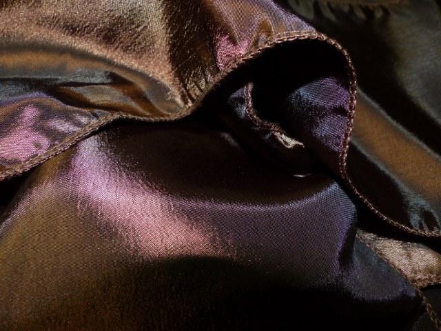 Chocolate Brown Taffeta
