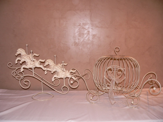 Cinderella Card Holder with Horses
