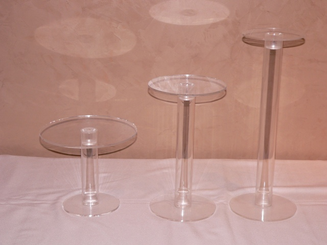 Clear Acrylic Cake Stand