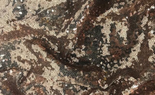 Copper Glitz Sequin
