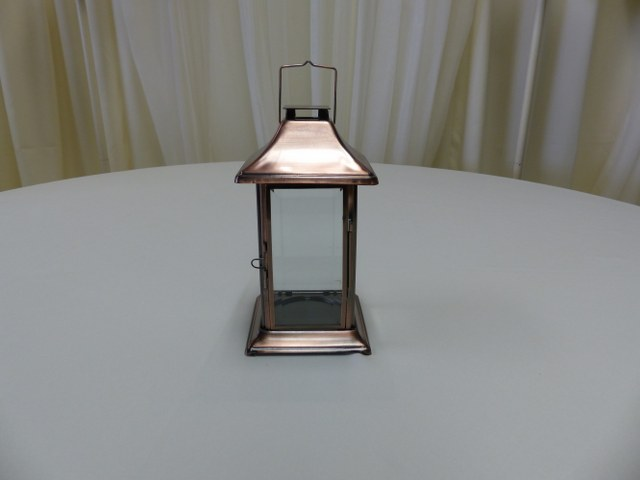Copper Table Top Lantern