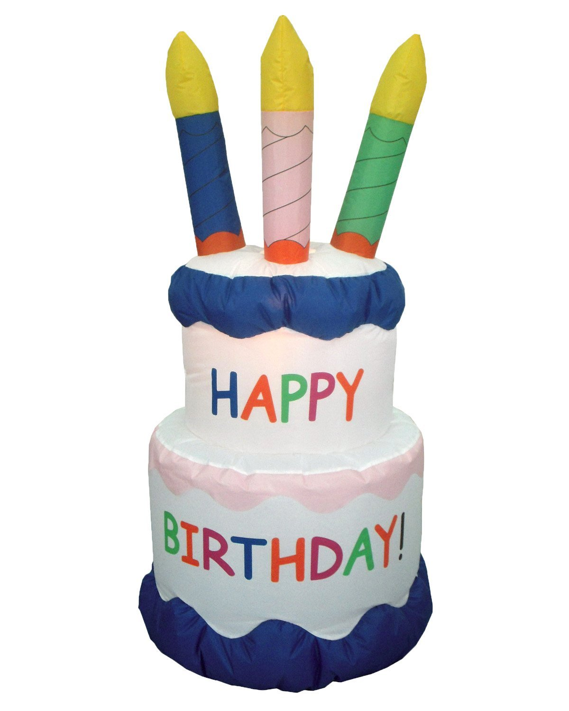 Inflatable Birthday Cake
