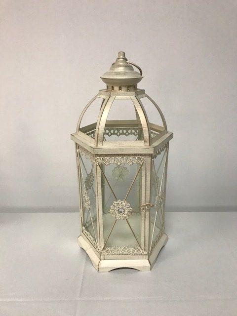 Ivory Lantern Large