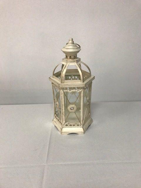 Ivory Lantern Small