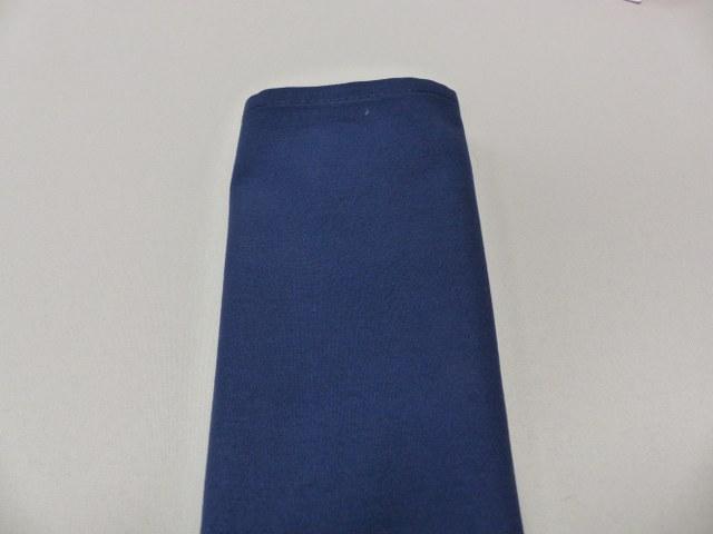 Navy Blue Polyester Napkin