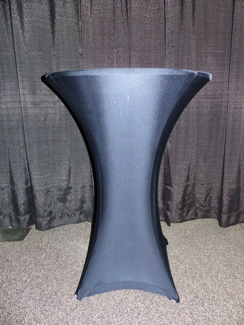 Navy Spandex Table Cover