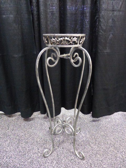 Pewter Flower Stand