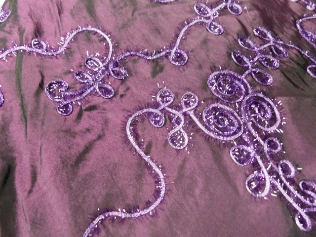 Purple Taffera Table Cloth