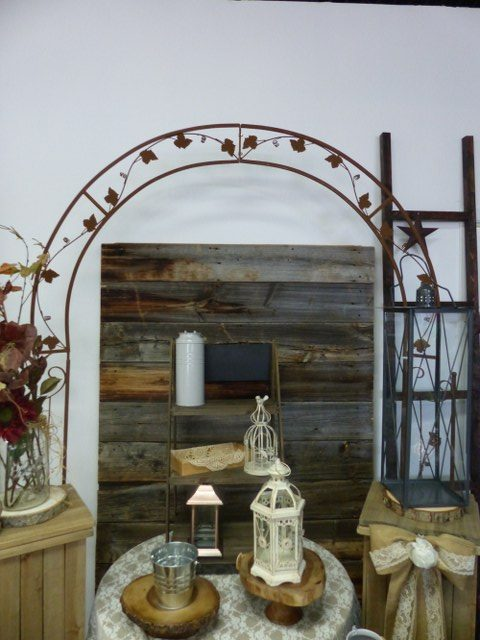 Rustic Brown Arch