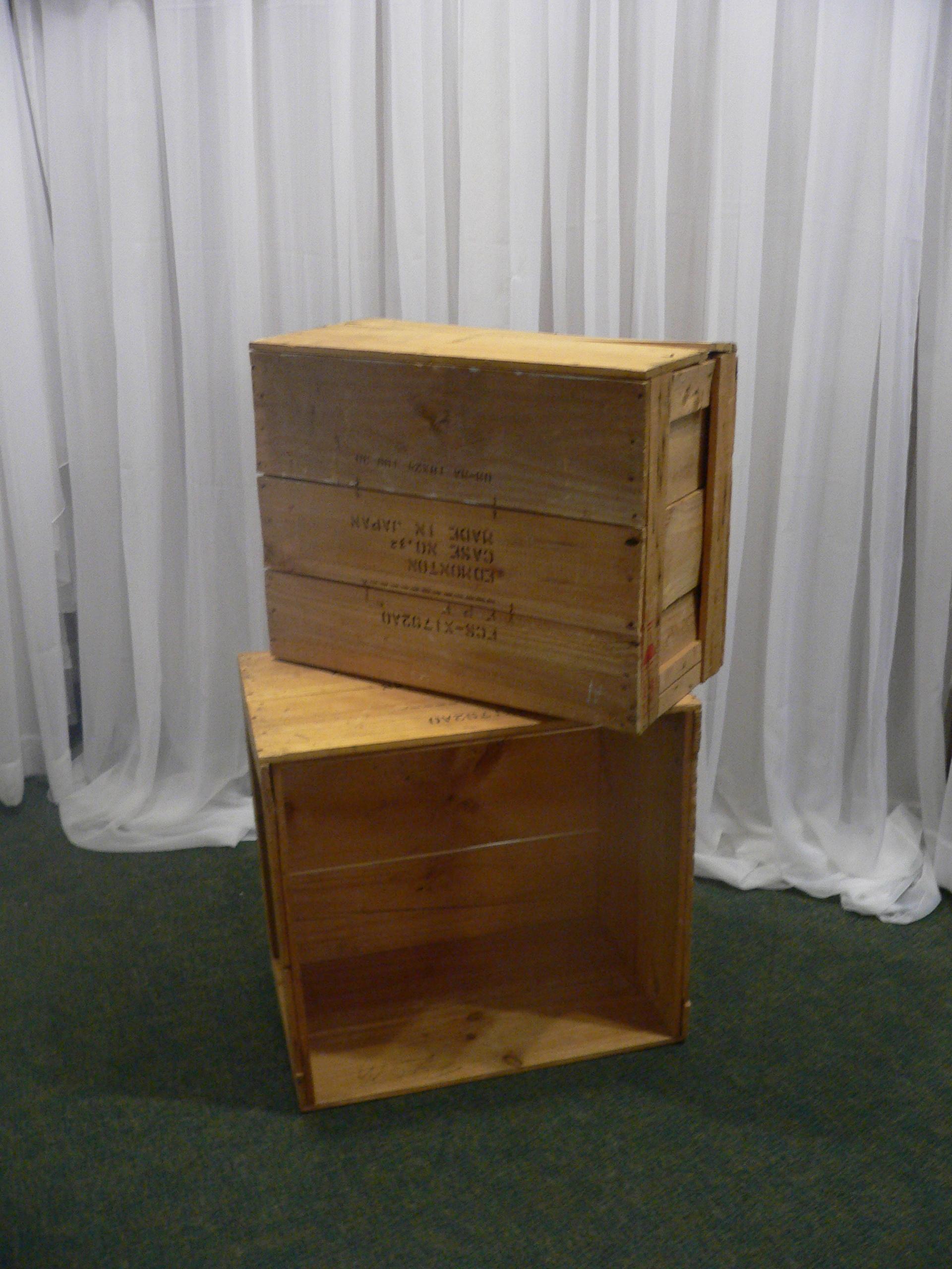 Rustic Wood Crates