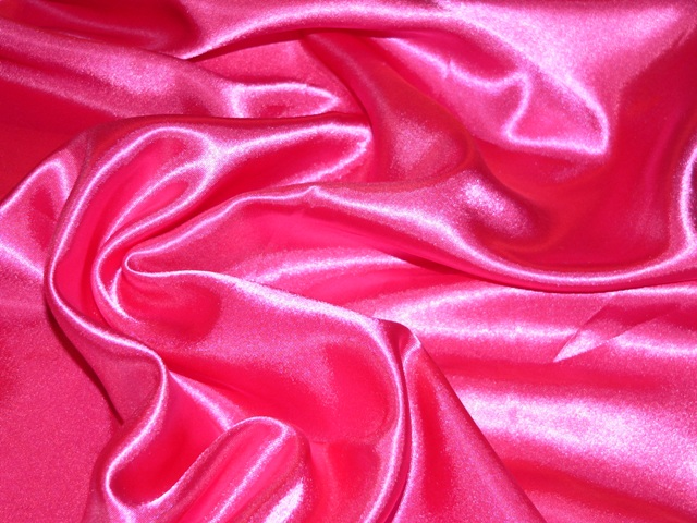 Satin-Hot Pink
