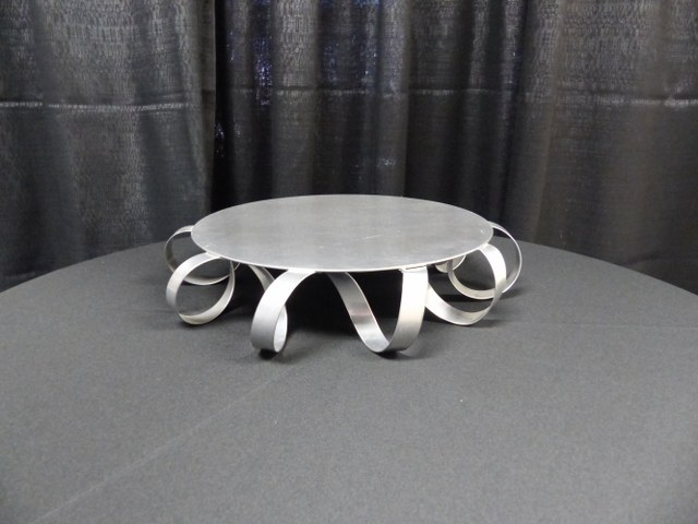 Silver Coil Cake Stand