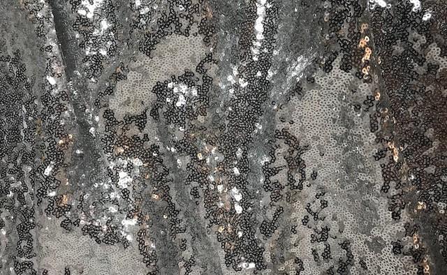 Silver Glitz Sequin