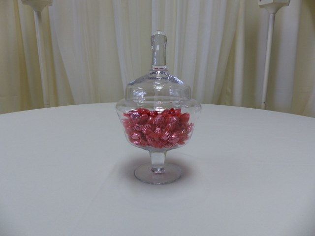 Small Lided Candy Jar