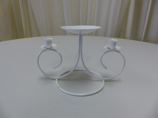 White Clover Unity Candle Holder