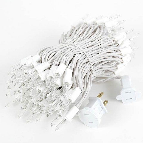 White Cord String Lights