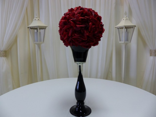 12inch Red Rose Ball