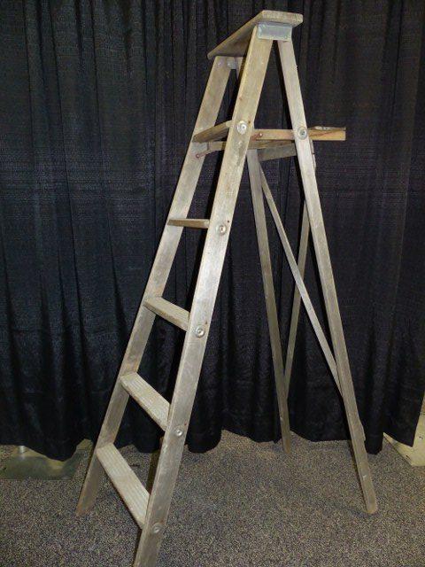Antique Step Ladder