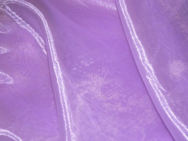 Dark Lilac Draping Organza