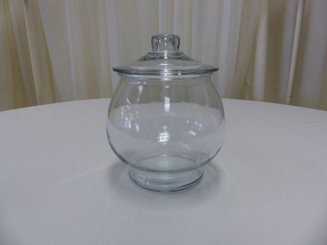 Footed Globe Cookie Jar-10.5inch