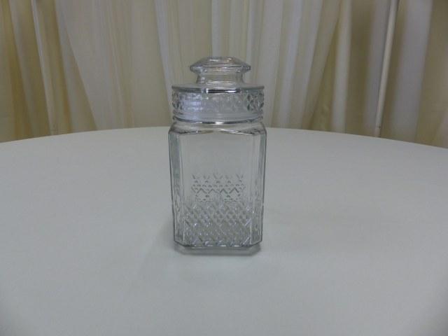 Old Fahsion Lidded Candy Jar