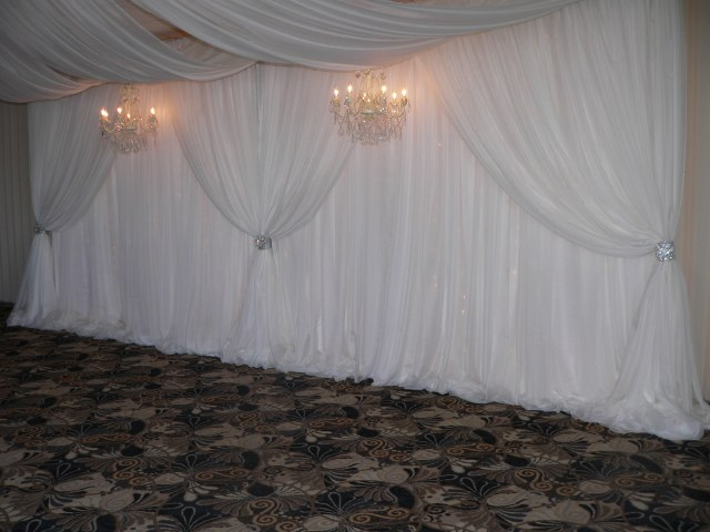 Single Layer White Voile